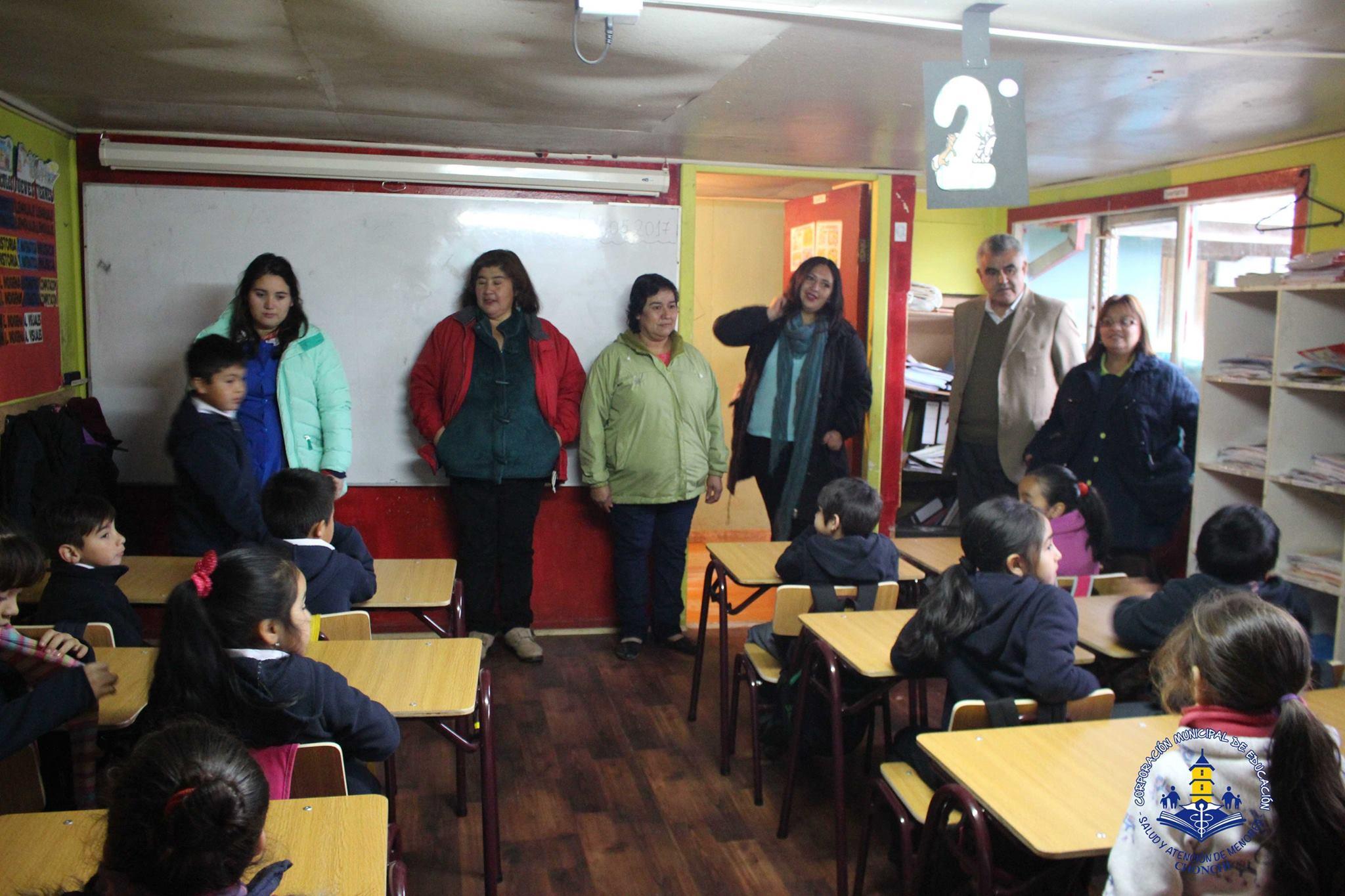 Corporaci n municipal de chonchi estudiantes de for Mobiliario para estudiantes