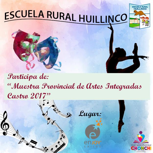 Muestras de Artes Integradas Castro 2017