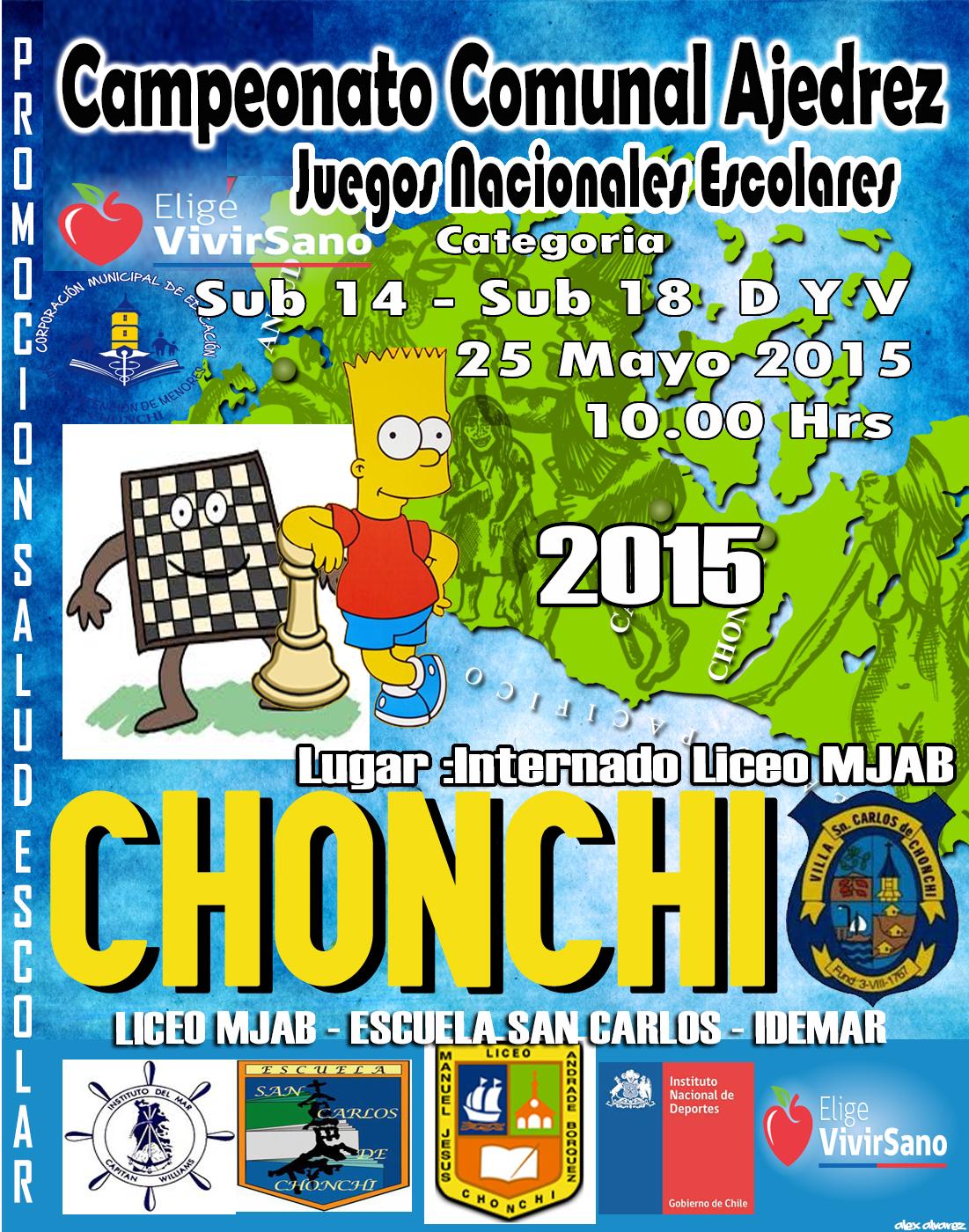 ajedrez JDE 2015